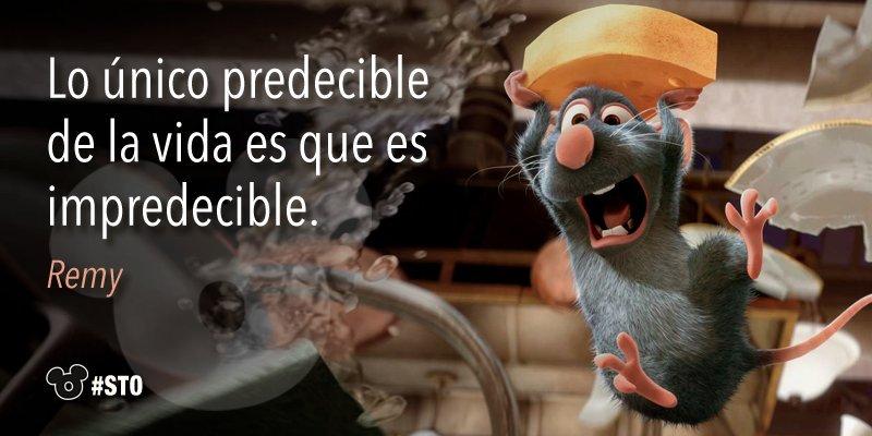 Frase de Remy - Ratatouille